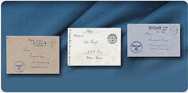 Bild: Feldpostbelege aus der Zeit des 2. Weltkrieges