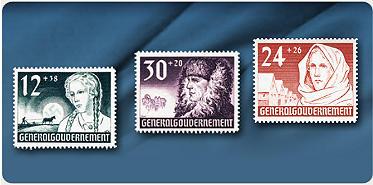 Bild: Propaganda-Briefmarken