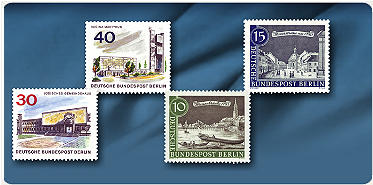 "Briefmarken-Kollektion ""West-Berlin 1948-1990"""