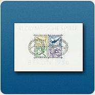"""Bild: Briefmarkenblock """"Olympische Spiele 1936"""""""