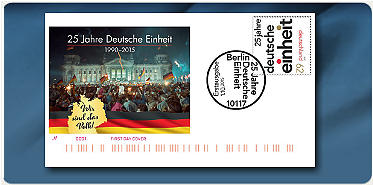 """Bild: Die einzigartige Kollektion """"Echtgelaufene Ersttagsbriefe Deutschlands"""""""