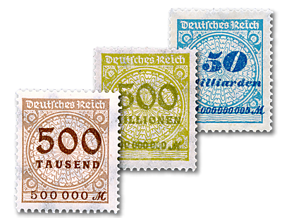 "Die Briefmarken-Kollektion ""Weimarer Republik 1919-1932"""