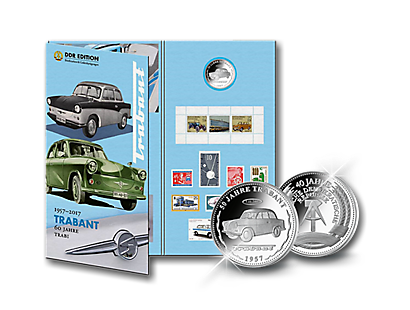 "DDR Edition – Gedenkmappe ""60 Jahre Trabant"""