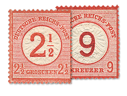 "Briefmarkensatz ""Brustschild"""